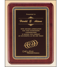 Piano Finish Plaques