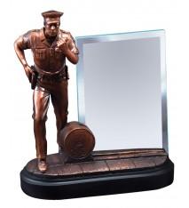 "POLICEMAN WITH 4""x6"" GLASS"