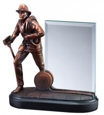 "FIREMAN WITH 4""x6"" GLASS"