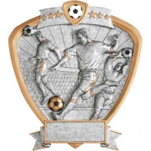 """8"""" Soccer Resin Shield - Male"""
