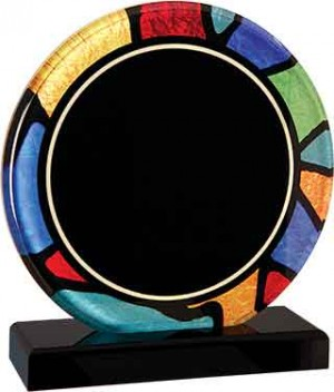 Round Stained Glass Acrylic