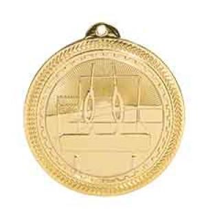 "2"" Gymnastics Laserable BriteLazer Medal"