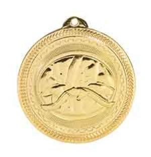 "2"" Martial Arts Laserable BriteLazer Medal"
