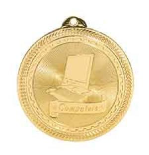 "2"" Computer Laserable BriteLazer Medal"