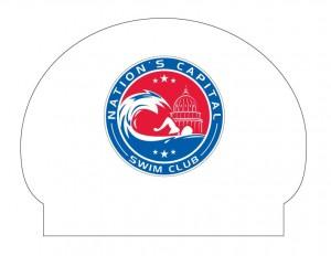 NATION'S CAPITAL SWIM CLUB SILICONE CAP