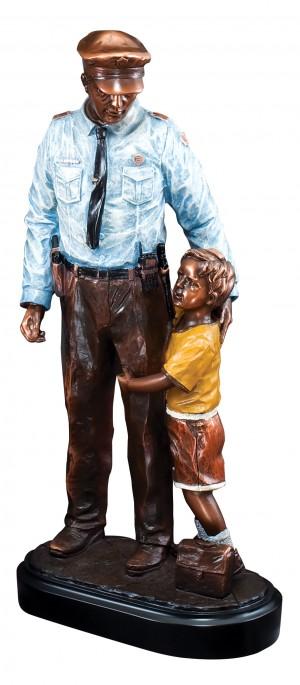 "POLICE & CHILD 13-1/2"""