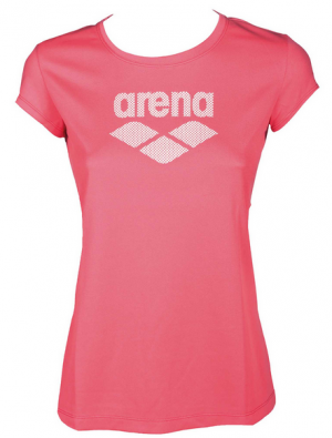 ARENA Womens Gym Logo Short Sleeve Tee